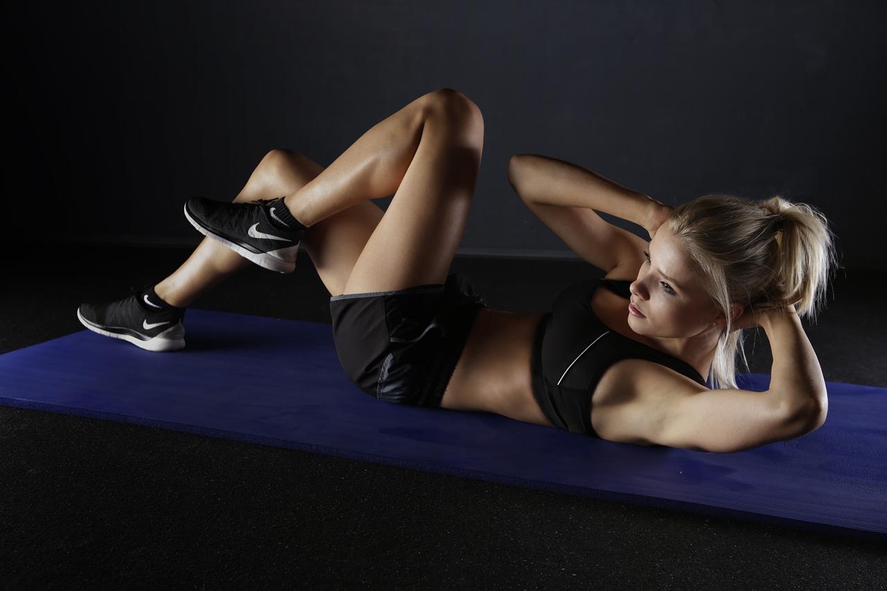 腹筋運動のイメージ画像