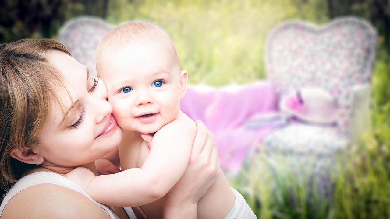 出産後のママさんのイメージ画像