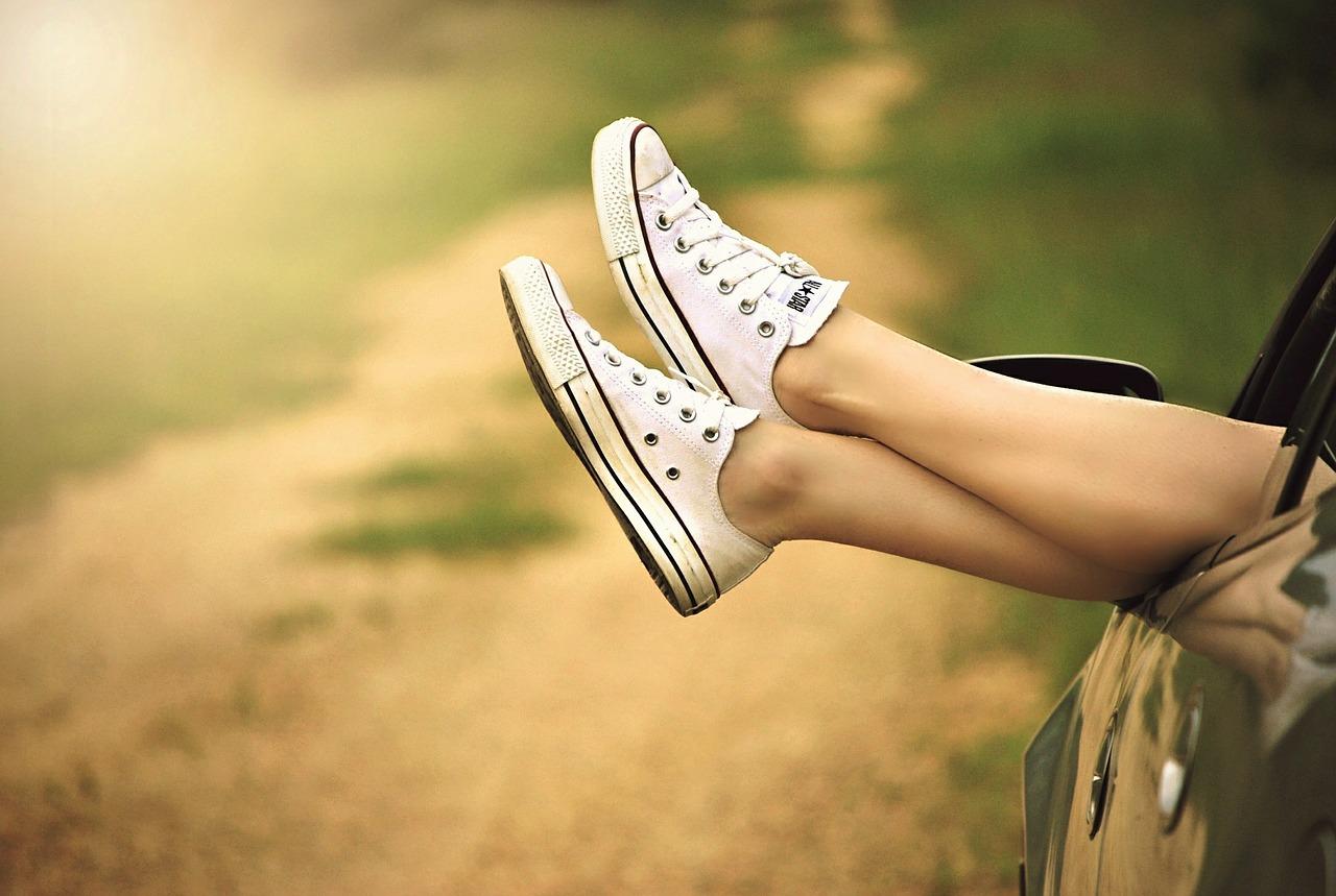 足の永久脱毛、美脚のイメージ画像